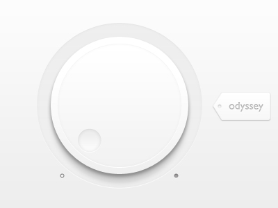 Clean-volumn-user-interface-dial
