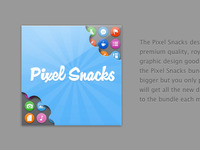 Pixel Snacks Bundle Artwork