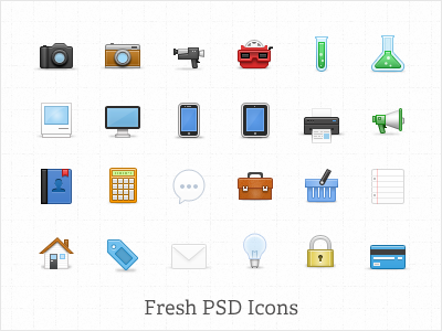 Fresh-psd-icon-set