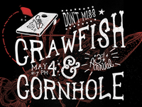 Crawfish & Cornhole