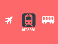 Transport Icons Freebie