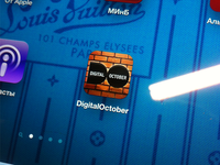 Digital October app icon