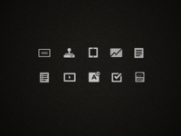Icons for an internet I'm making