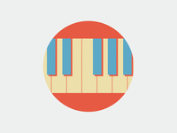 Musical icons (piano)