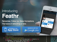 Feathr Download Landing Page