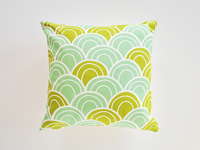 Scalloped Pillow Cover
