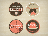 Ice Cream Badges