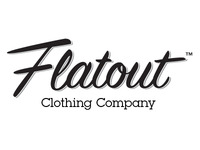 Flatout Clothing Type Logo