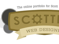 Scottify Logo Concept (Different Cog)