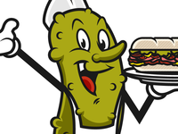 Mr. Pickles Mascot