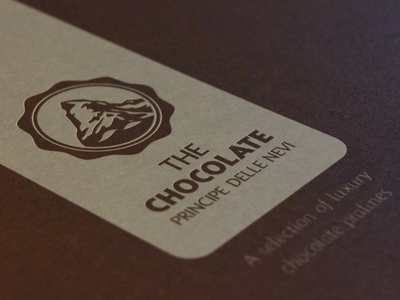 The Chocolate - Package design