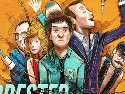 Arrested Development, Paste Cover