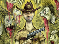 Walking Dead cover image for Paste Magazine.