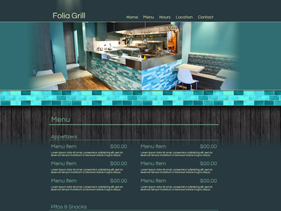 Greek Grill Website