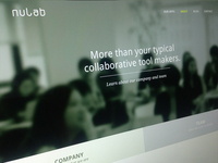 Nulab Website - About Page