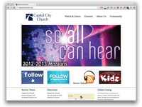 Church Web Launched