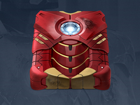 Avengers HDD Icon - Iron Man