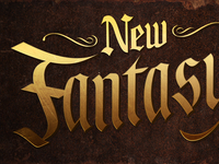 New Fantasyland Logo Detail
