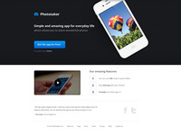 Product page template for iPhone app 2