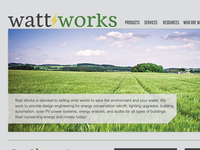 WattWorks Inc. Site Redesign