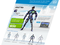 Dell Super Hero - app mock up
