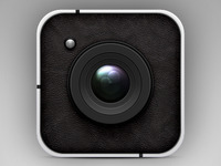 Vector Camera Icon (PSD)