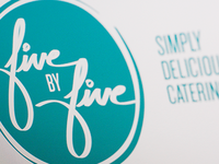 Five by Five Catering - Logo Redraw 2