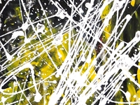 Mix Media #abstract #art - Scribble