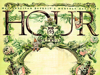 Hour Detroit Green Cover