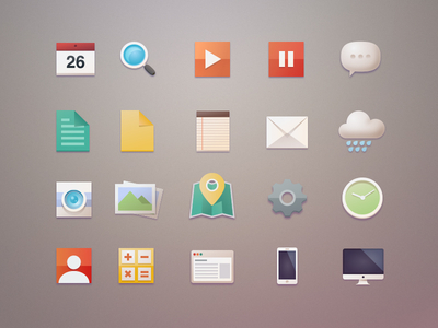 Download Another Free Flat Icons