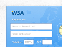 Simple credit card payment