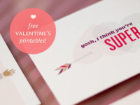 Free Valentines Goodies