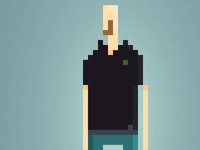 Pixel Self Portrait