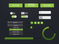 Green Ui Sketch