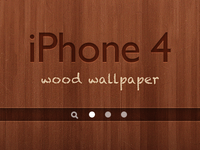iPhone 4 Wood Wallpaper