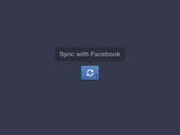 Facebook Sync Button