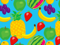 Fruit Pattern Swatch