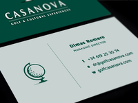 Casanova Business Card