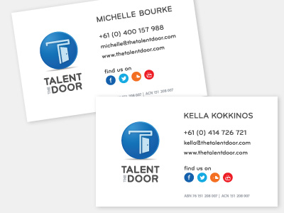 Talent_door_cards
