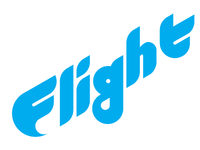 Flight geometric wordmark