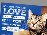 KC Pet Project Postcard