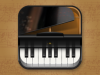 Piano iOS icon