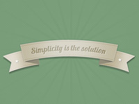 Ribbon Banner (PSD)
