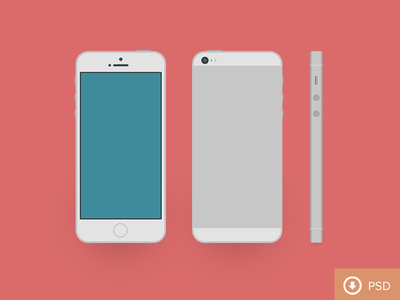 Download PSD iPhone 5s