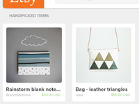Etsy redesigned project - featured