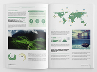 Corporate brochure template.