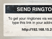 Ringtone Sticker