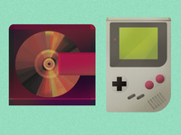 Gameboy and  Minidisc