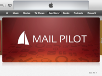 Mail Pilot Banner Featured in App Store