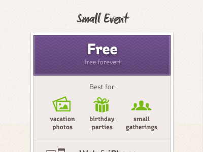 Pricing-small-event